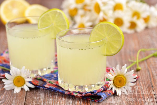Домашний лимонад из лимона, лайма и мяты