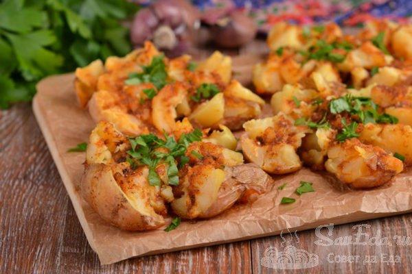 Ароматная запеченная картошка