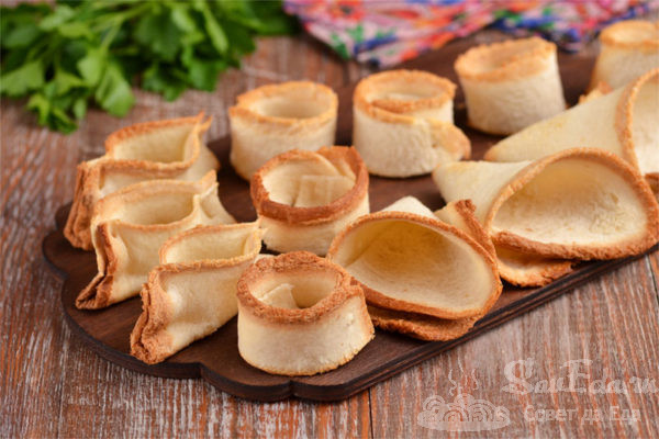 3 вида тарталеток из тостового хлеба