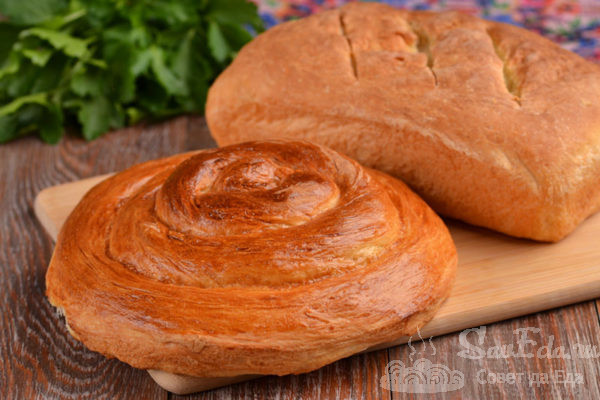 Домашний пшеничный хлеб на молоке