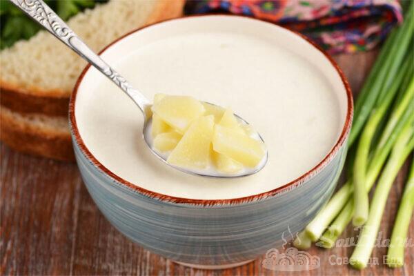 Забеленная картофельная похлебка