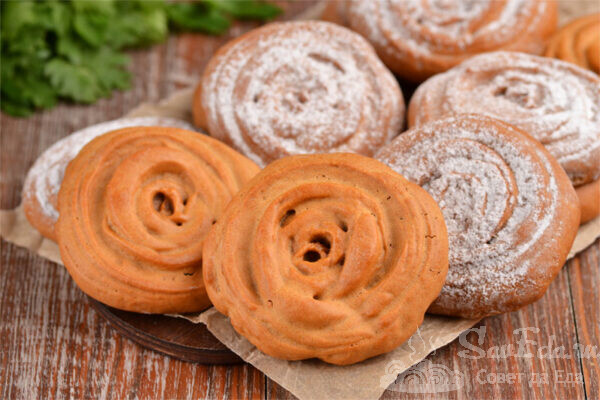 Быстрое печенье из вареной сгущенки