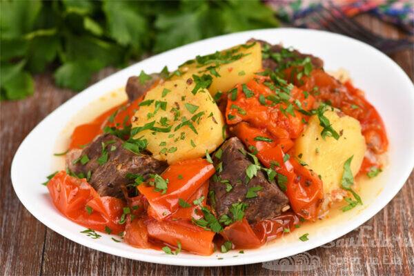 Хашлама с говядиной по-армянски