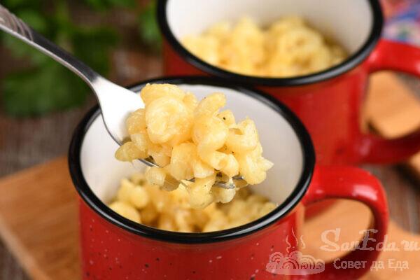 Макароны с сыром за 5 минут