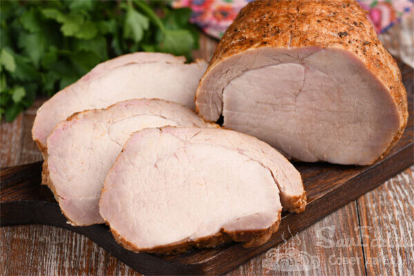 Свинина в солевом растворе в духовке