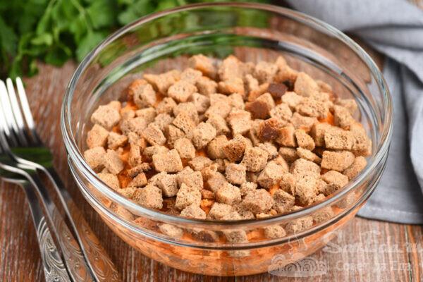 Салат-закуска из сырой моркови