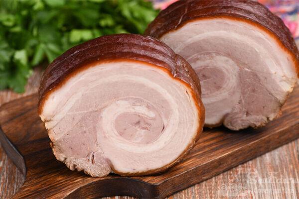 Свиная грудинка в соевом соусе